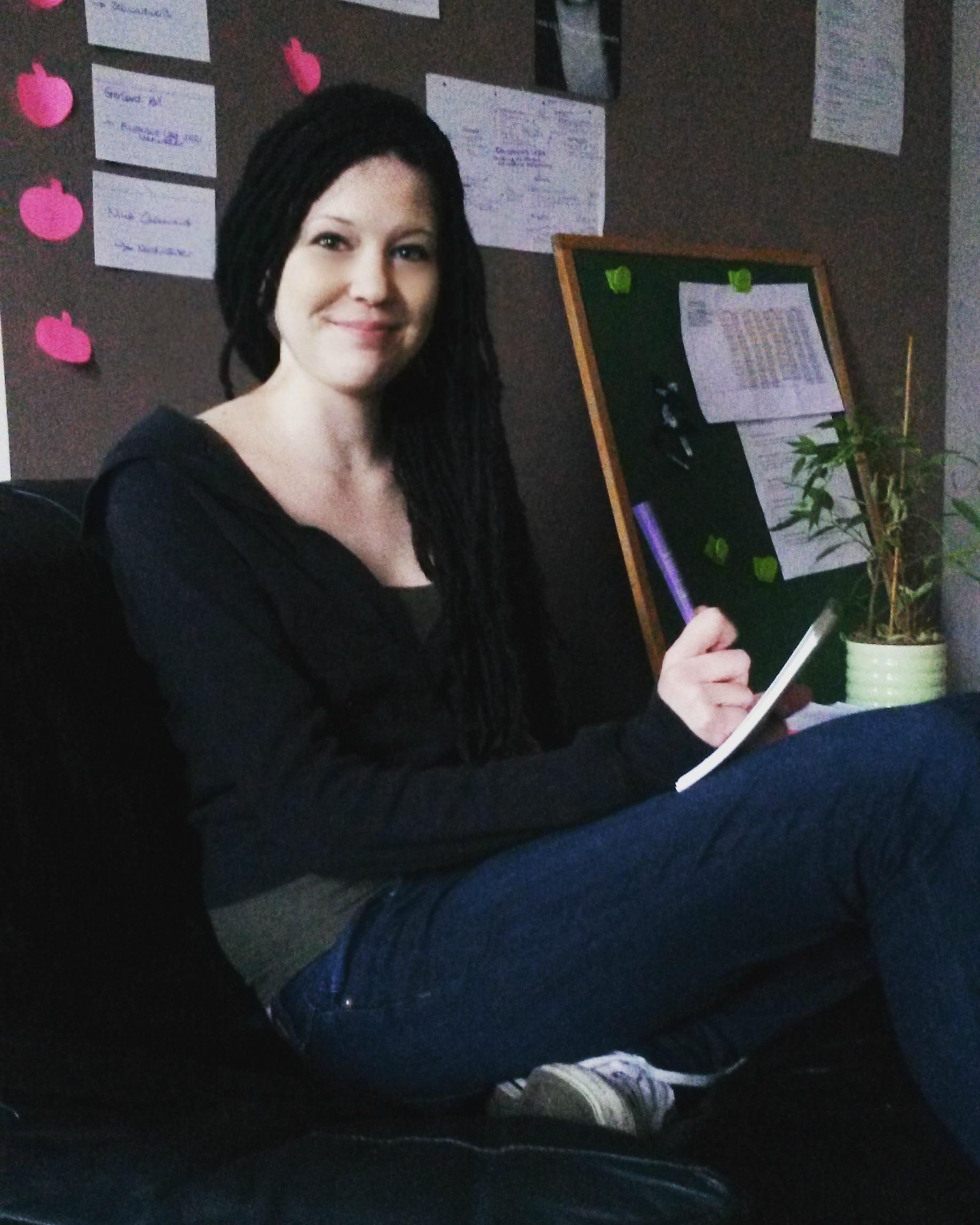 Verlagsinhaberin Laura Bruning